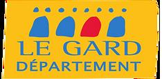 Logo Département du Gard pour le Véloshow 2019
