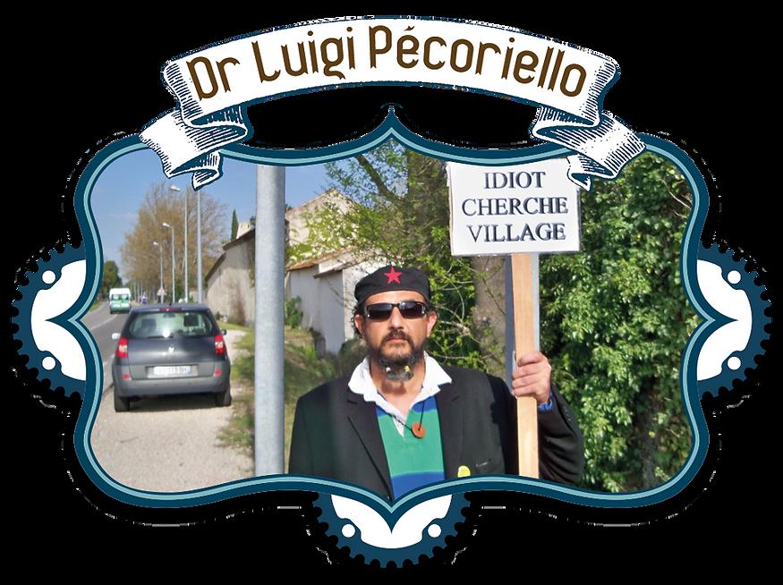 Dr Luigi Pecoriello Le Mr Loyal pour le Véloshow