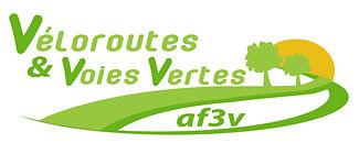 Logo Association Véloroute & Voies Vertes AF3V pour le Véloshow 2019