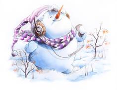 snowman-music