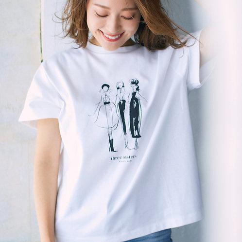 オリジナルイラストプリントTシャツ