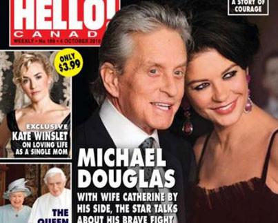 לחיות בגדול הבתים של מייקל דאגלס וקת'רין זיטה ג'ונס צילום שער המגזין הלו.jpg