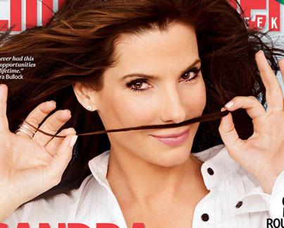 לחיות בגדול הבית של סנדרה בולוק צילום שער המגזין אנטרטיינמנט וויקלי.jpg