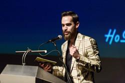 ג'ו גרינבאום - מנחה כנס האופנה הבינלאומי לשנת 2014 במוזיאון העיצוב חולון