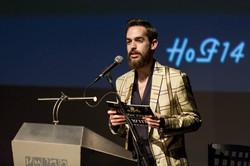 ג'ו גרינבאום - מנחה כנס האופנה הבינלאומי לשנת 2014