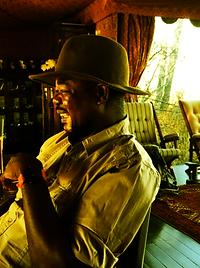 Fabulous game ranger, Jack's Camp Makgadigadi