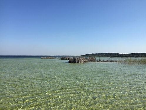 ancient fishing traps, Kosi Bay