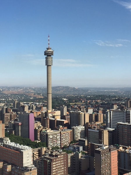 Johannesburg, seen from The Ponte Tower