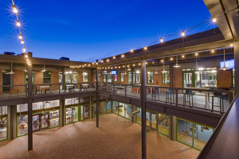 courtyard rehab