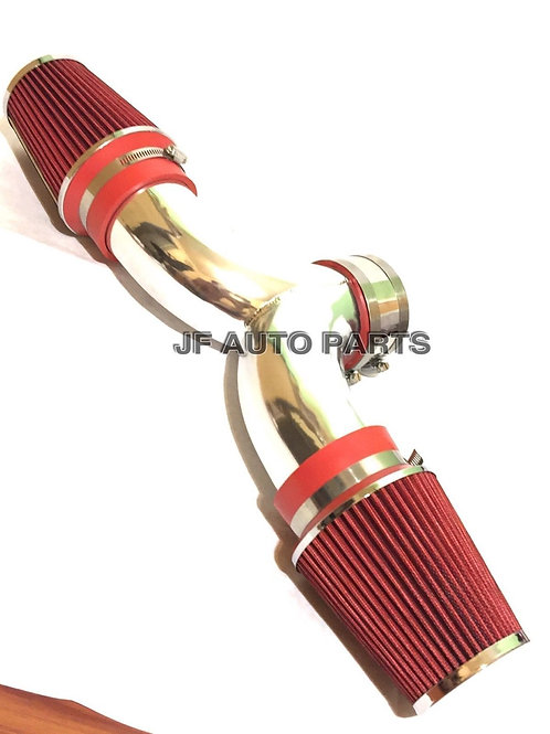 "3.5"" RED Dual Twin Air Intake Induction Kit + Filter For 01-04 Corvette 5.7L V8"