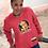 Thumbnail: Red I.Z.M. Zooted RiRi Crew Neck Sweat Shirt