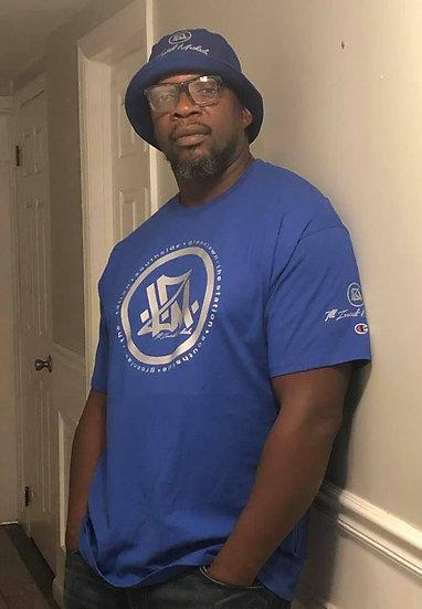 Blue/Metallic I.Z.M. Tshirt