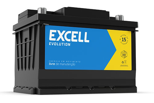 Bateria Excell de 60 amperes