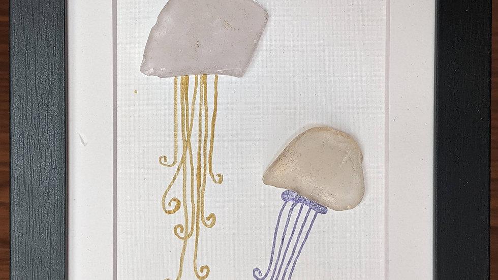 Jellyfish (purple and gold)