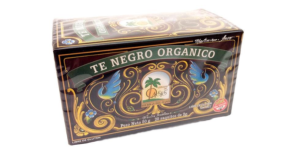 TÉ NEGRO Orgánico - Hierbas del Oasis x 25 saq