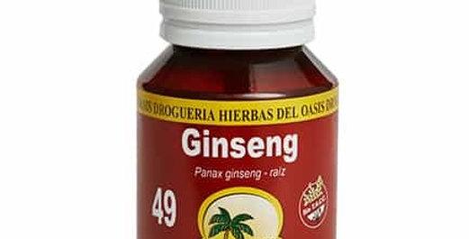 GINSENG - TINTURA MADRE Hierbas del Oasis x 60cc