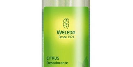 DESODORANTE WELLEDA CITRUS 130 ml.