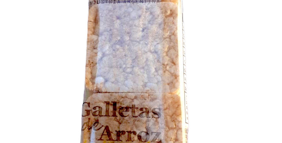 GALLETA DE ARROZ integral x 70 gr Party Beck