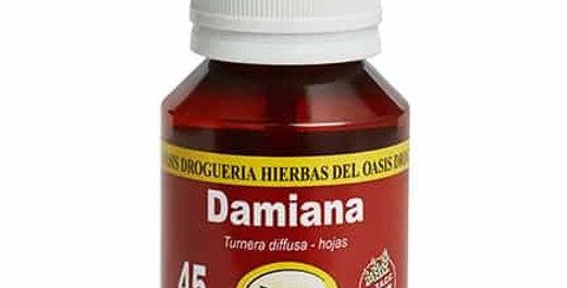 DAMIANA - TINTURA MADRE Hierbas del Oasis x 60cc