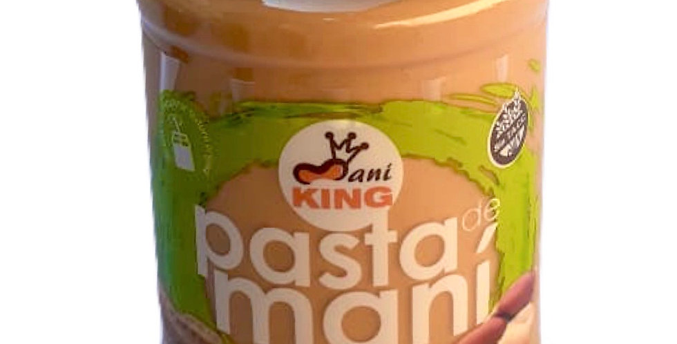 PASTA DE MANI NATURAL - Maní King x 485 gr