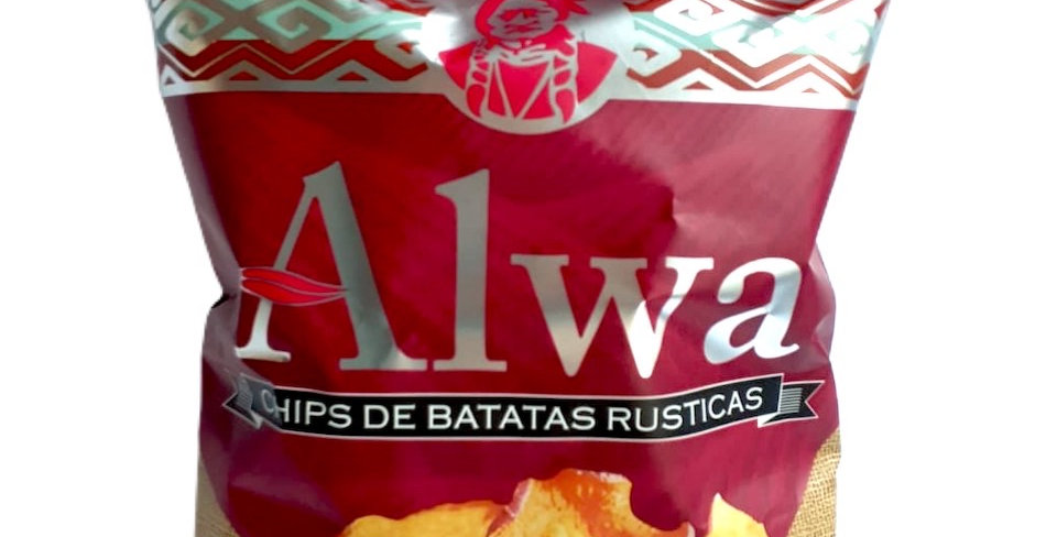 CHIPS DE BATATAS RUSTICAS Alwa - 90gr