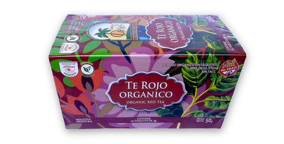 TÉ ROJO Orgánico - Hierbas del Oasis x 25 saq