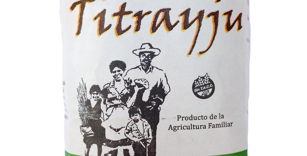 YERBA MATE TITRAYJÚ  x 500 grs  Libre de agro tóxicos