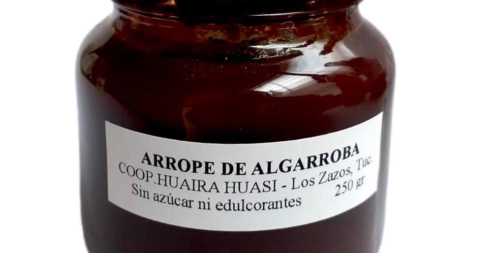 ARROPE DE ALGARROBA s/azucar 250g