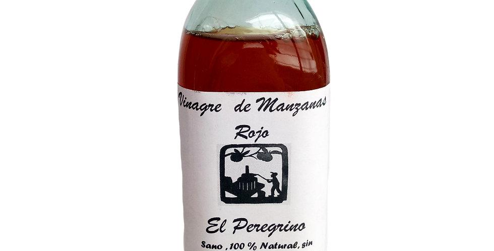 VINAGRE DE MANZANAS Orgánico  El Peregrino- 500 cc