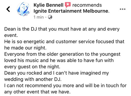 Another Incredible Client Review!