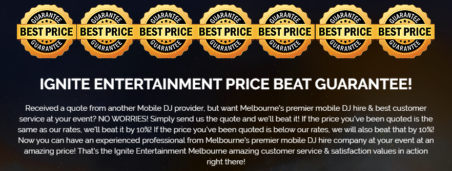 Melbourne DJ hire prices - best cheap DJ Melbourne