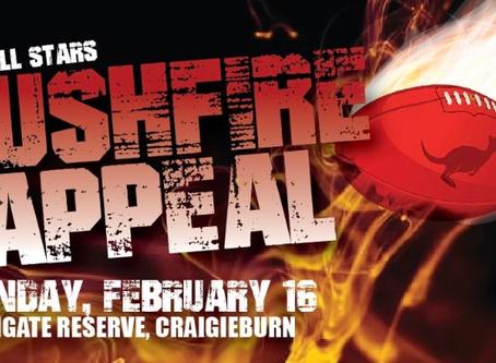 EDFL Bushfire Appeal Volunteer Performance!