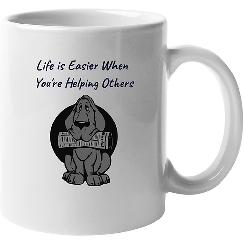 Mug - Life is Easier When You're Helping Others