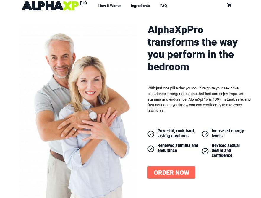 Alpha XP Pro The Bedroom