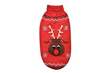 Red Reindeer Xmas Jumper