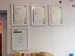 Some of my professional awards