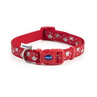 Red Stars Reflective Collar.jpg