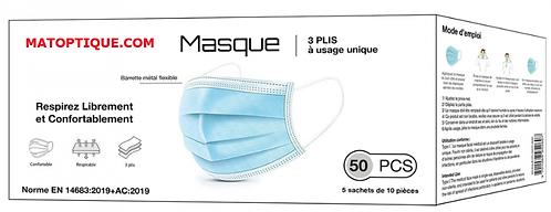 Masque Adulte Type1 / TVA 5.5%
