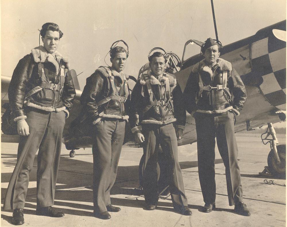 World War II B-17 crew heroes