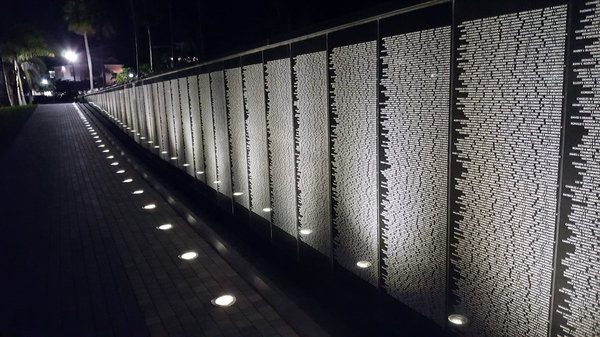 Punta Gorda Vietnam Veterans Wall replica