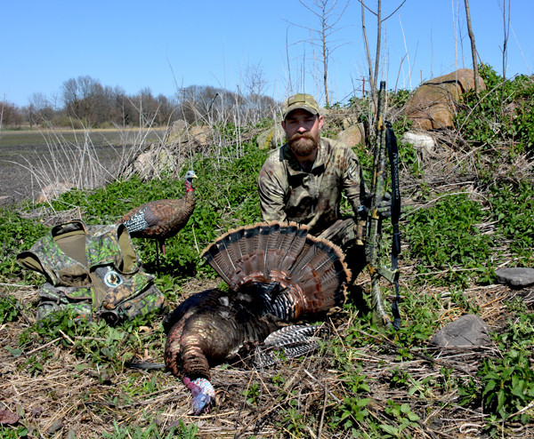 wild turkey hunting Indiana Clinton Romesha Medal of Honor