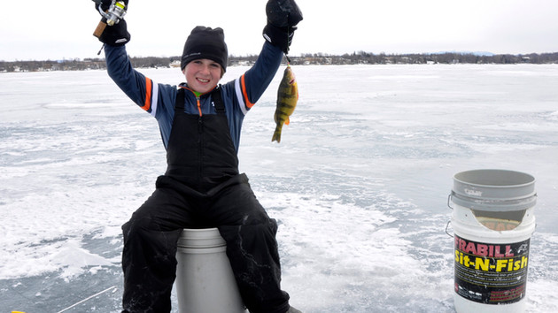 A New Version of March Madness – Ice Fishing in the Great White North - Lake Champlain Beckons
