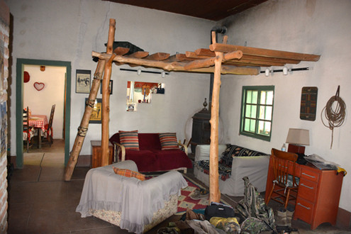 OR-inside our adobe lodging-Ken Perrotte photo
