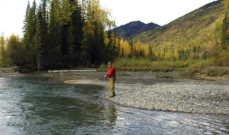 Outdoors Rambler Ken Perrotte fishing