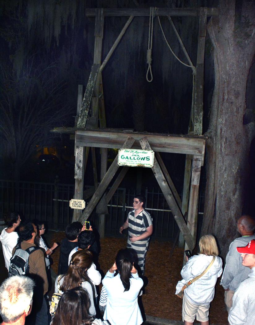 Ghost Tour Jail Gallows