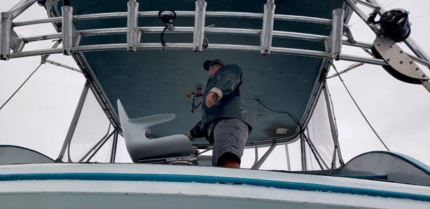 OR-Capt Jason has a rough ride from the