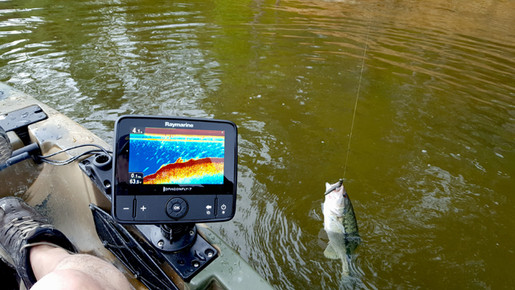 Outdoors Rambler - Raymarine Dragonfly 7 and feity spotted bass