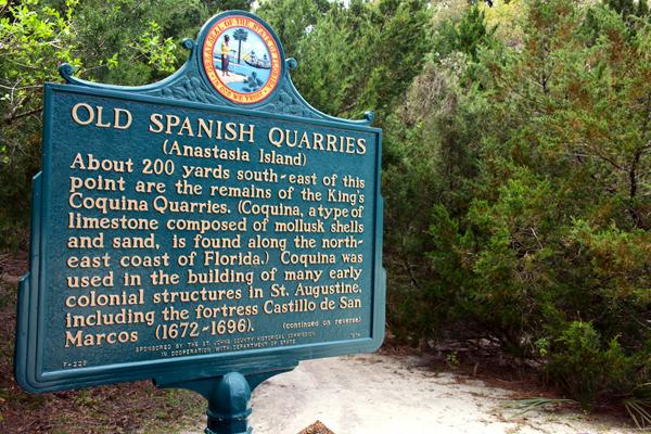 sign-Spanish Quarries - outdoors rambler