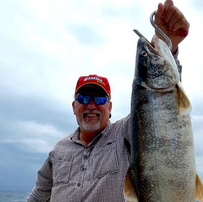 Lake Erie walleye trout fishing