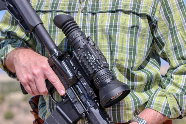 Ruger AR-556 MPR with FLIR Thermal 2